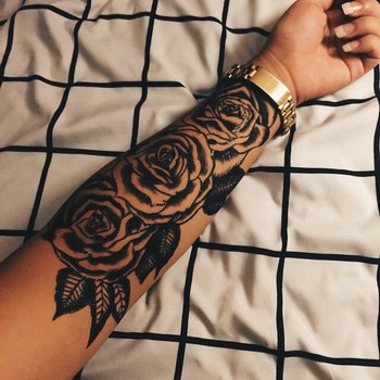 Not into the half sleeve tats but this one is perfect