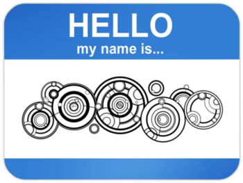 The Doctor's name written in Gallifreyan. #DoctorWho