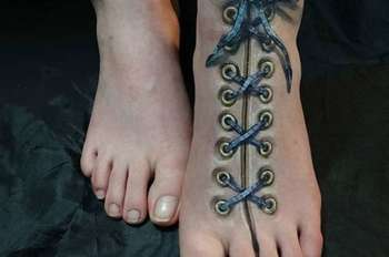 Clever Foot Tattoos We Wish We Thought Of First