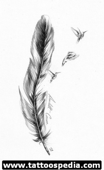 Feather Tattoo Meaning 6