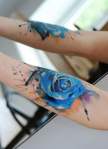 50+ Stylish Roses Tattoo Designs and Meaning Check more at http://tattoo-journal.com/guns-n-roses-on-
