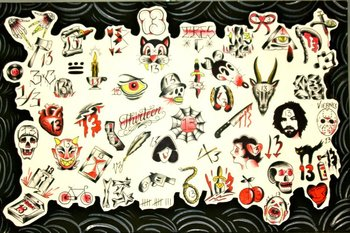 Who the hell is going to get the Manson tattoo? It is kinda funny. friday the 13th tattoos - Google S