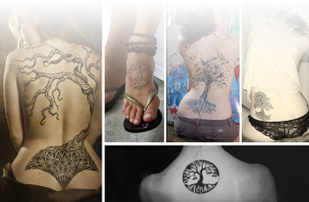Tree of Life Tattoo Meanings and Design | InkDoneRight.com