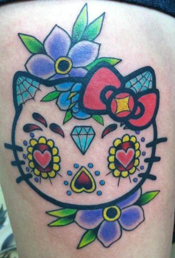 A Sugar Skull Hello Kitty... I love this!
