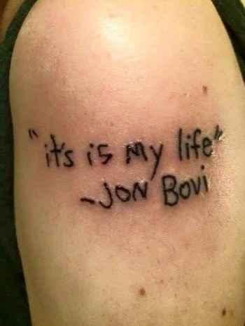 "31 Tattoos That Will Make You Scream ""Nooooo"""