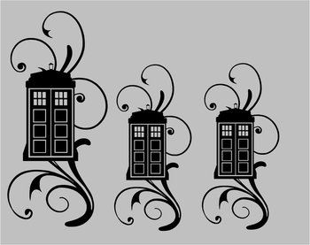 Dr. Who Vinyl Embellishments for your Mixer or... Pimp my KitchenAid - Vinyl Sticker Decal. $10.00, v