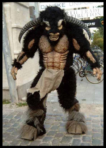 Minotaur suit by Meatshop-Tattoo on deviantART