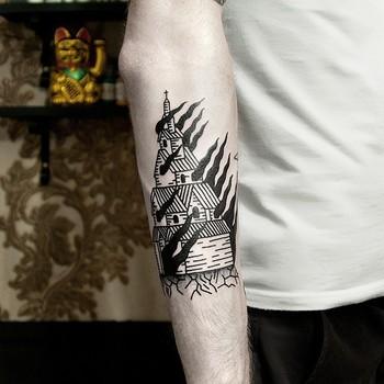 Tattoo by Dase Roman Sherbakov