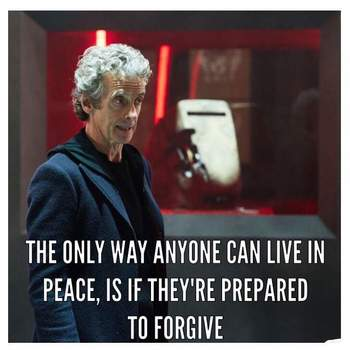 This is a copy of the Doctor Who War Speech: Spolier if you have not watched The Zygon Inversion