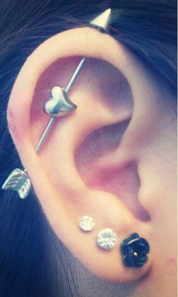 5 cute and fun ear piercing ideas - The Fashion Time