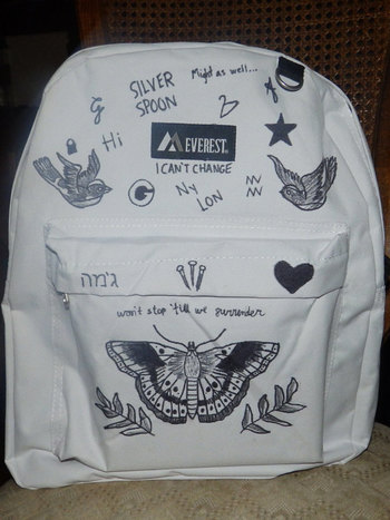 Harry Styles Tattoo Backpack