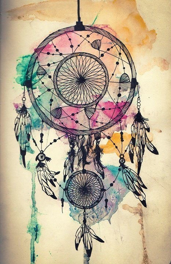 "Dream Catchers tattoo with ""follow your dreams"" really thinking about a thigh tattoo"
