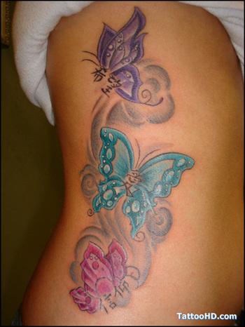 Small Butterfly Tattoos Designs #10317 design ideas | Tattoosnet