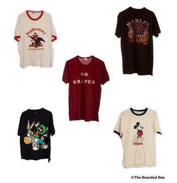 SOFT Vintage T-Shirt (1970s-1990s) - Mystery Shirts