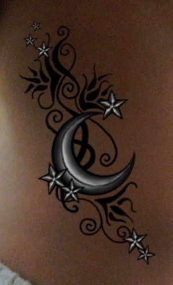 30 Beautiful Moon Tattoo Designs