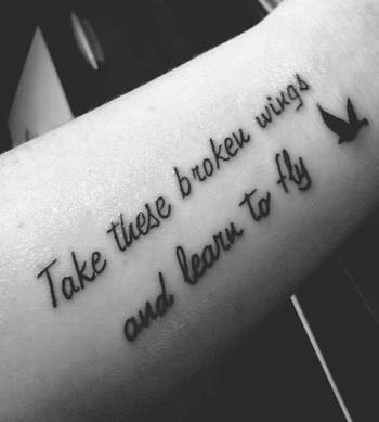 Best 77 Tattoo Quotes in Pictures