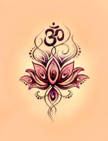 Lotus om tattoo | Like Tattoo