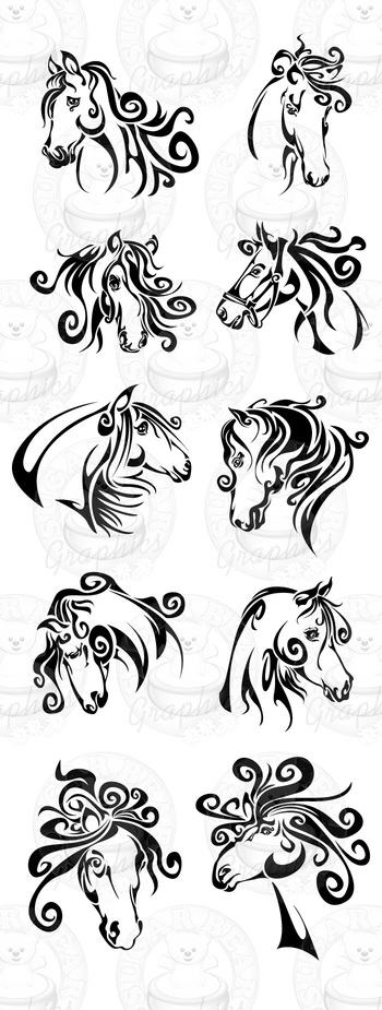 Horse & Horseshoe Tattoos and Designs : Page 23