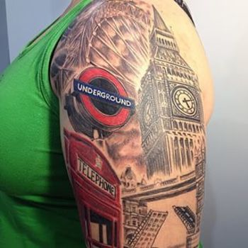 Community Post: 15 Beautiful London-Inspired Tattoos You'll Fall Deeply In Love With