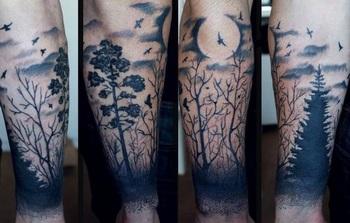 Tons of Glorious Moon Tattoos!   Tattoos Beautiful