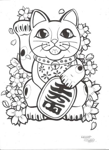 japanese money kitty - Google Search