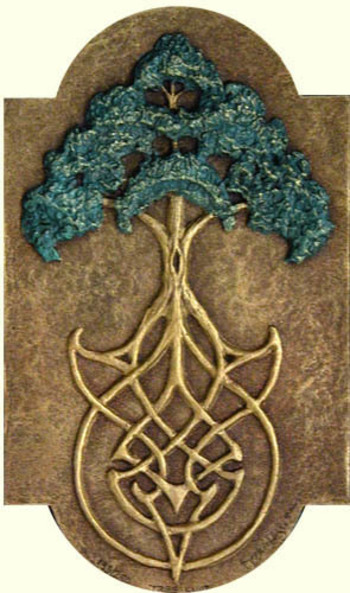 Druids Trees: The Tree of Life and Celtic knotwork. I like the way they did this tree of life more th