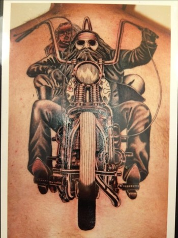 Biker tattoos are the invention of the 20th century, hence they are relatively new, but like all othe