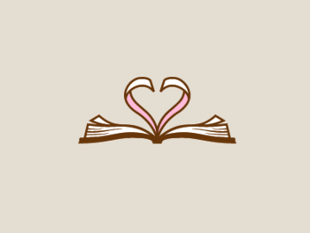Dribbble - Book Heart by Jared Granger