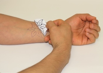 How to Make a Henna Tattoo Stencil | No Transfer Paper Required.
