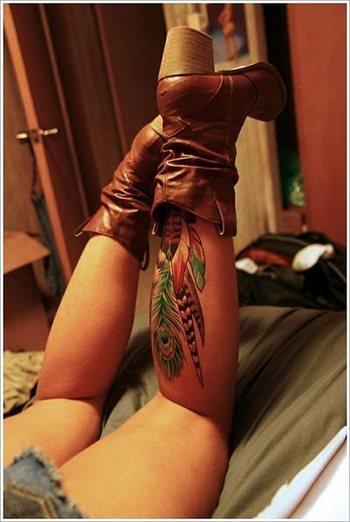 Feather Tattoos - Inked Magazine