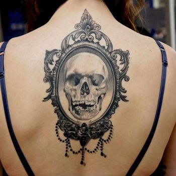 Skull Tattoos by Adem Senturk, more tattoo designs and skull inspirations at skullspiration.com