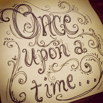 Once upon a time...#PintoWin #NapoleonPerdis #Cinderella --- I like the scrollwork/font. Very storybo