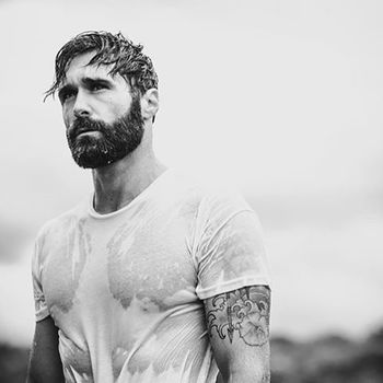 the-bearded-stag: @lukeditella knows to keep the man beard well hydrated. www.thebeardedstag.com #the