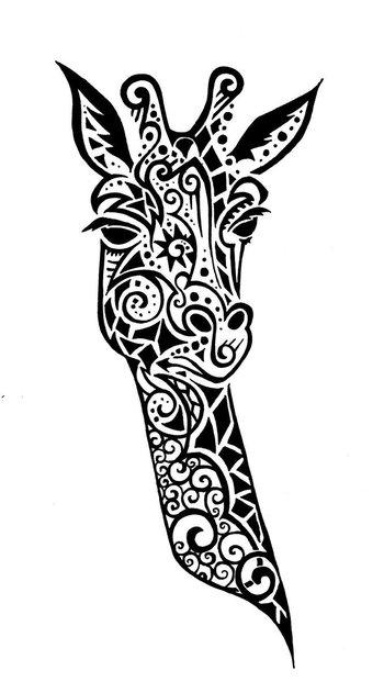 Google Image Result for http://th04.deviantart.net/fs71/PRE/i/2011/058/b/d/giraffe_tattoo_by_wolfds-d