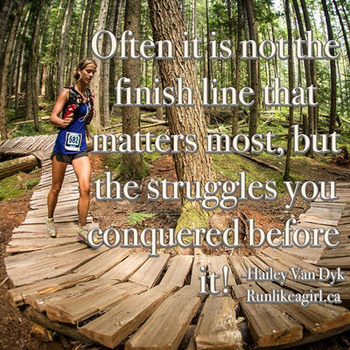 Running Matters #20: Often, it is not the finish line that matters most, but the struggles you conque