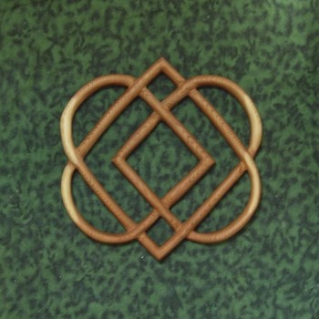 Knot of Four Hearts-Celtic Wood Carving-Family Love