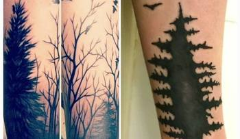 This Guy Wanted A Tattoo Of Some Trees But Got A Nightmarish Hellscape...