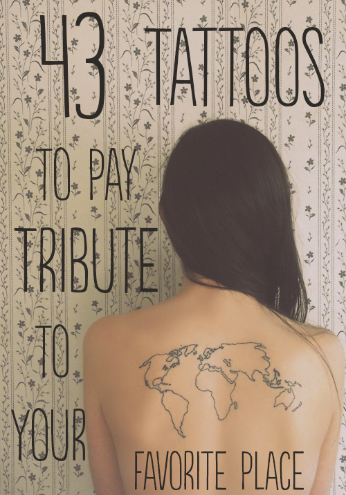 43 rad tattoos to pay tribute to your favorite place original