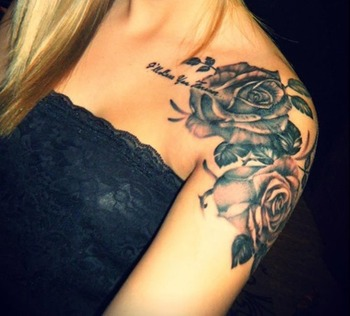 33 Amazing Shoulder Tattoos for Girls and Women | Tattoos Mob