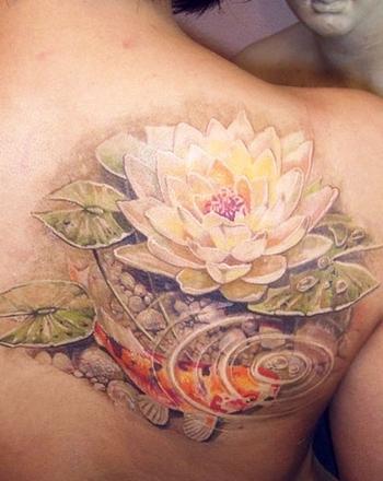 Realism Nature Tattoo by Alexander Pashkov