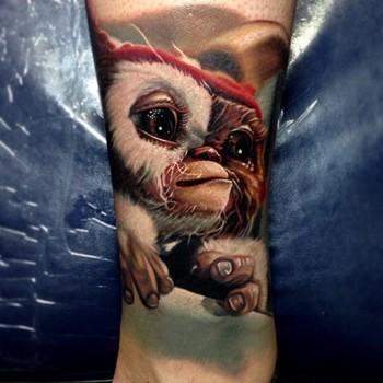 Loving this #Gizmo Tattoo by Nikko Hurtado