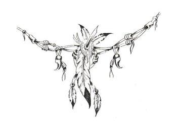 Native American Indian Tattoos Pictures | Indianische Symbole Tattoo Vorlagen 1 | Kostenlose Tattoo V