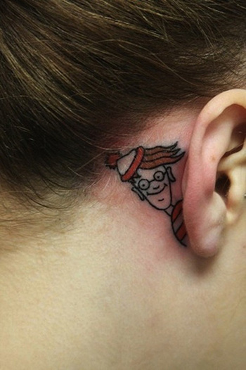 Funny tattoos, funny journey | Cuded