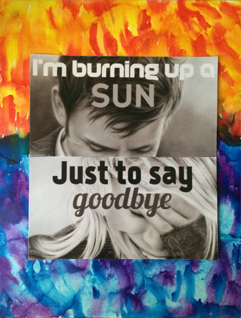 I'm Burning Up A Sun Just To Say Goodbye Doctor by ItsAWhoThing