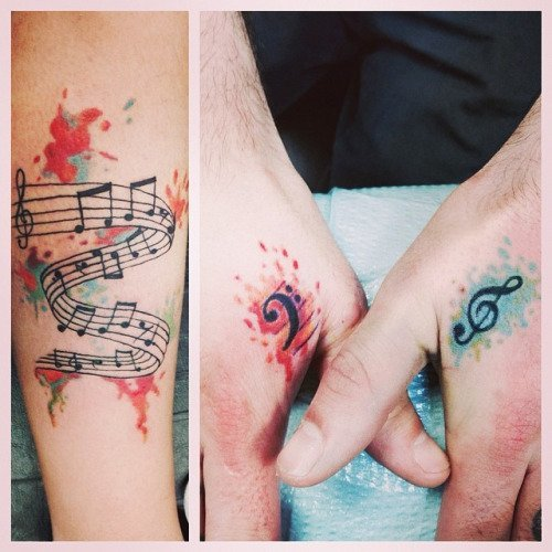 42 stirring musical tattoos tattoodo com 2506e002 9d45 40d1 b51c 0589d3745106 original