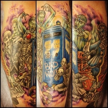 """Community Post: 50 Fantastic """"Doctor Who"""" Tattoos"""