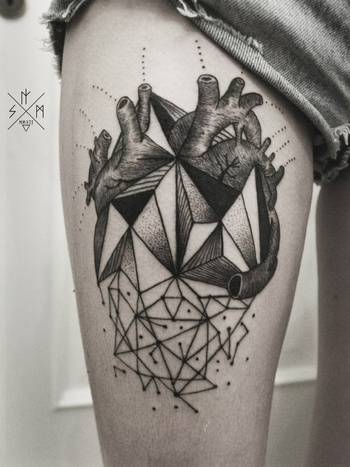 Innovative Geometric Tattoo Inspiration - Image 15