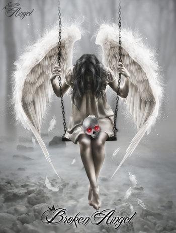 Broken Angel by saritaangel07 on deviantART