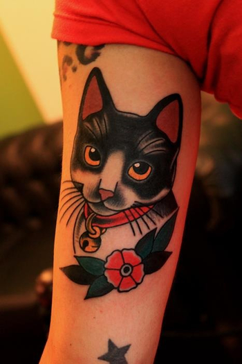 cute little kitty by Santu Altamirano