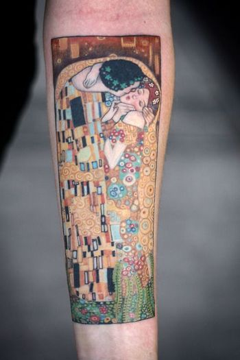 Gustav Klimt Tattoo | Best tattoo design ideas
